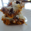 Recipe: Coconut and Chocolate Chip Squares (and Goodbye)