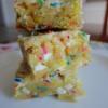 Recipe: Cake Batter Blondies