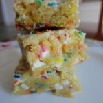 Recipe: Cake Batter Blondies