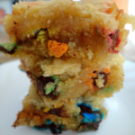 Recipe: M&M Blondies