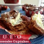 Recipe: Tuxedo Cheesecake Cupcakes