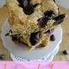 Recipe: Chewy Cookie Bars