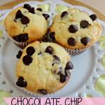 Recipe: Chocolate Chip Buttermilk Muffins