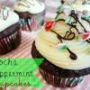 Mocha Peppermint Cupcakes