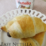Recipe: Easy Nutella Croissants