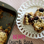 Recipe: Berry Crumb Bars