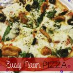 Recipe: Easy Naan Pizza