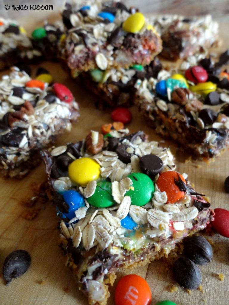 Oatmeal Cookie Bars