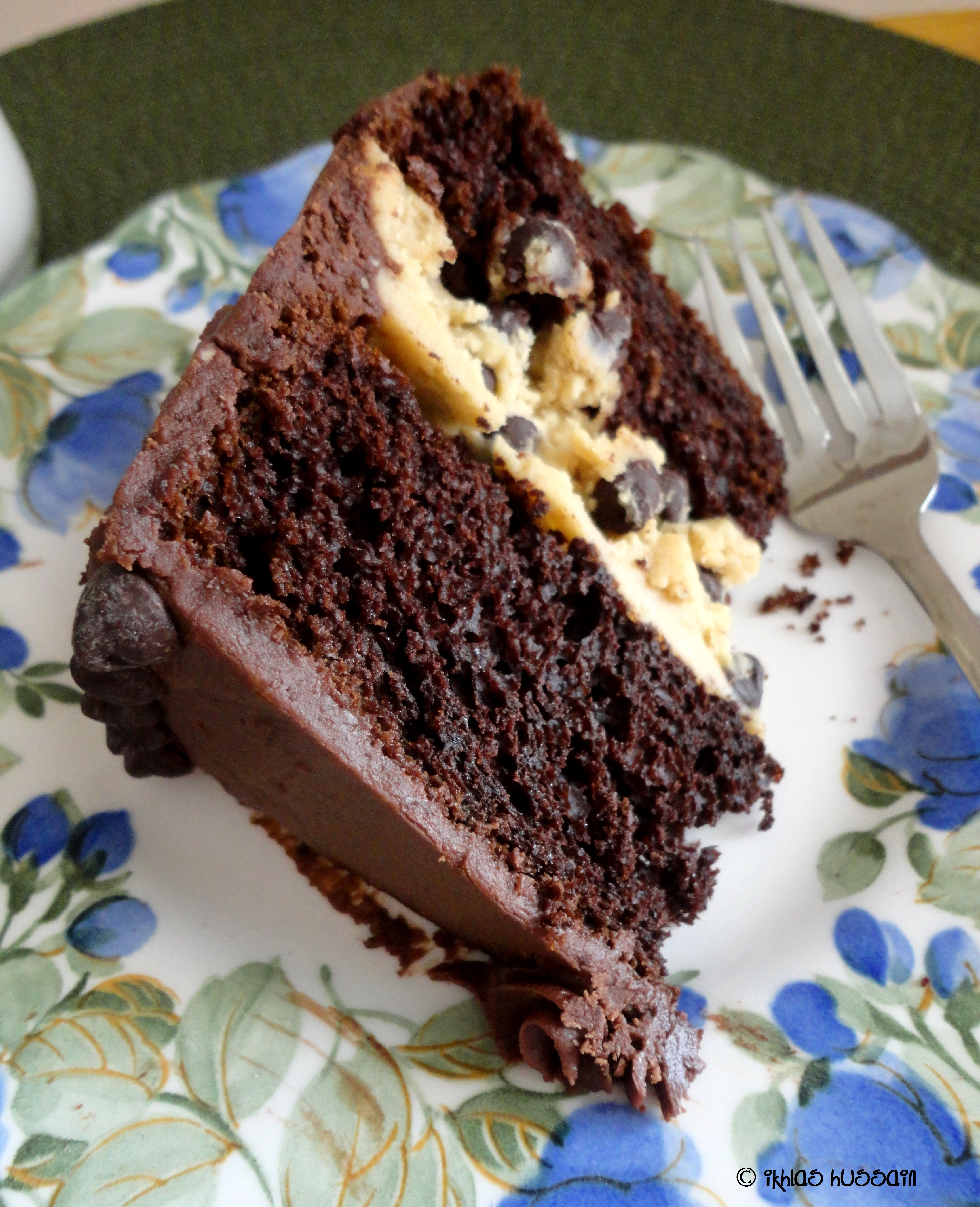 Recipe: Chocolate Pudding Cake with Cookie Dough Frosting - The ...
