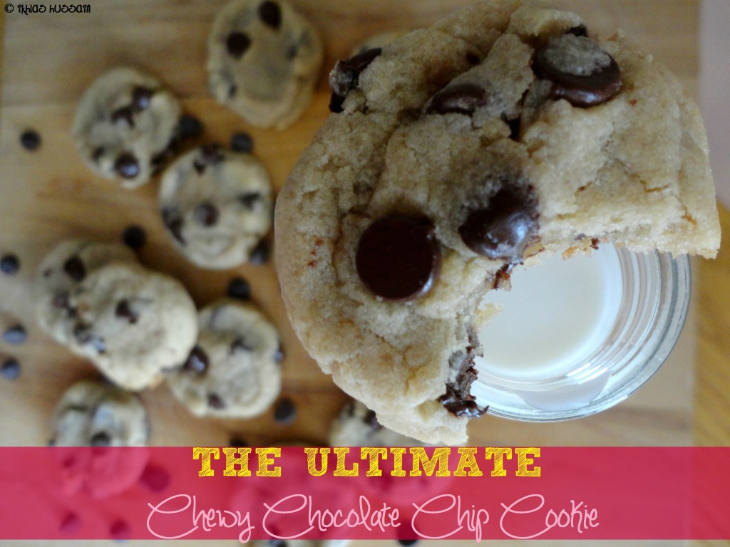 Ultimate Chewy Chocolate Chip Cookie