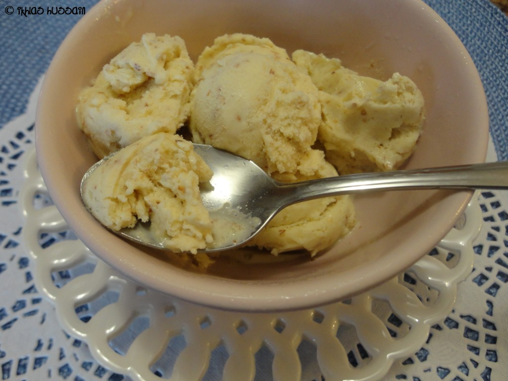 Almond Kulfi (Ice Cream)