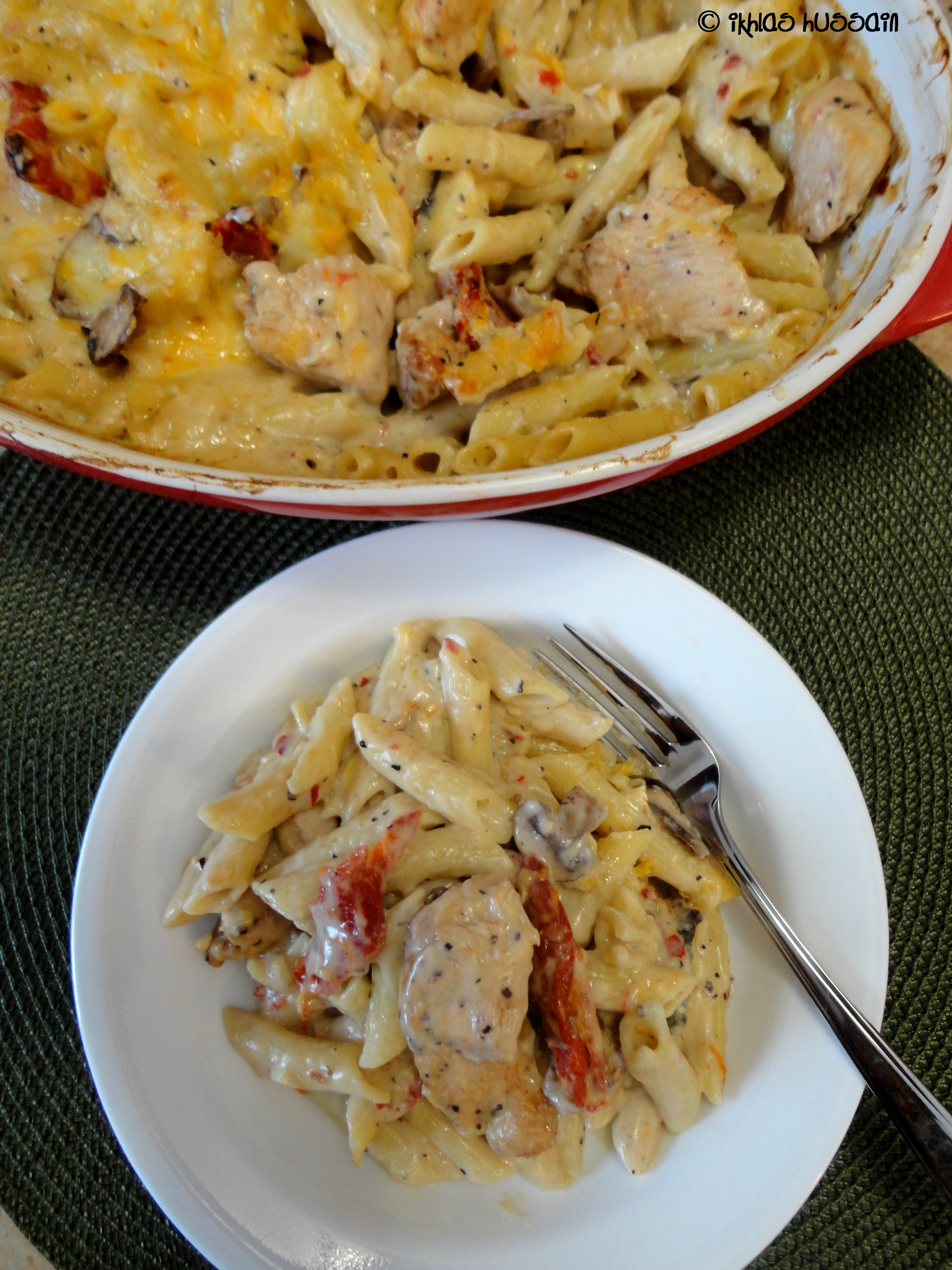 tomato and penne with creamy basil creamy pasta bake with chicken ...