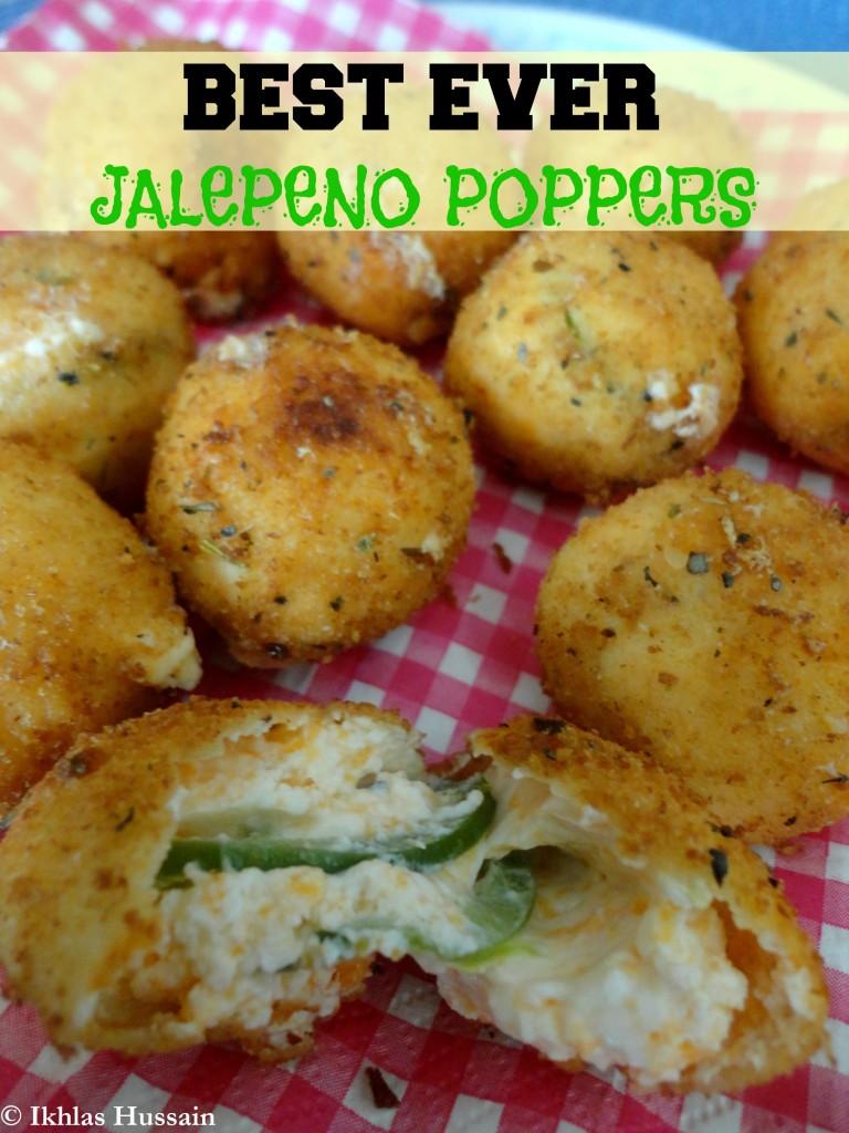 Best Ever Jalapeño Poppers
