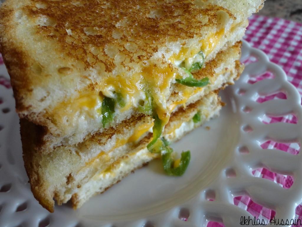 Jalapeno Popper Sandwiches