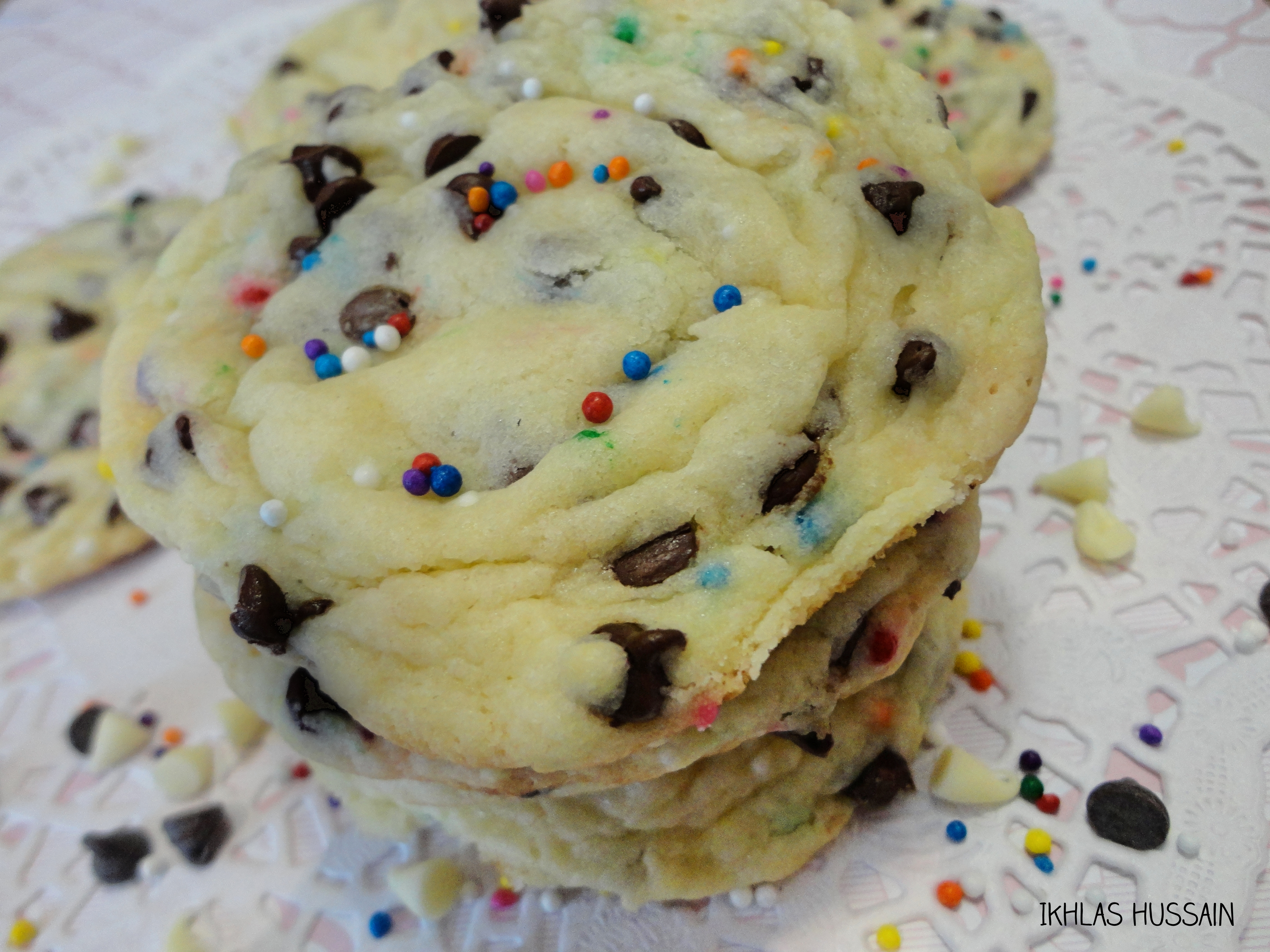 Recipe Birthday Cake Cookies The Whimsical Whims Of Ikhlas Hussain