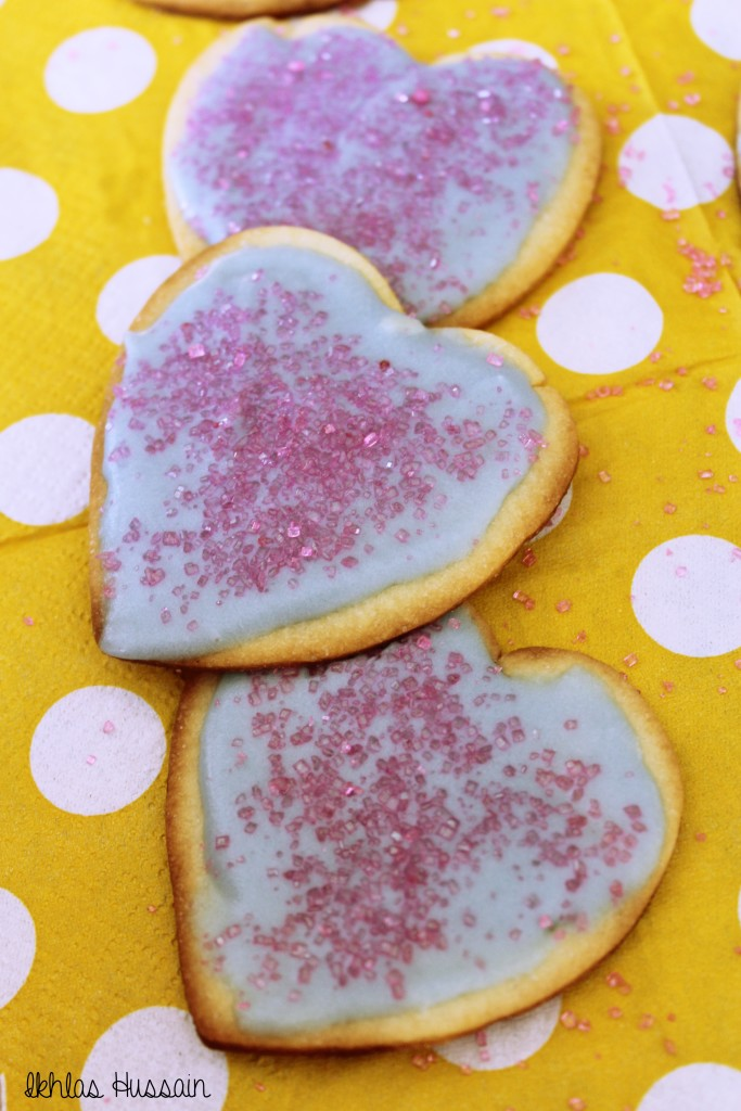 Sugar Cookies with Butter Frosting