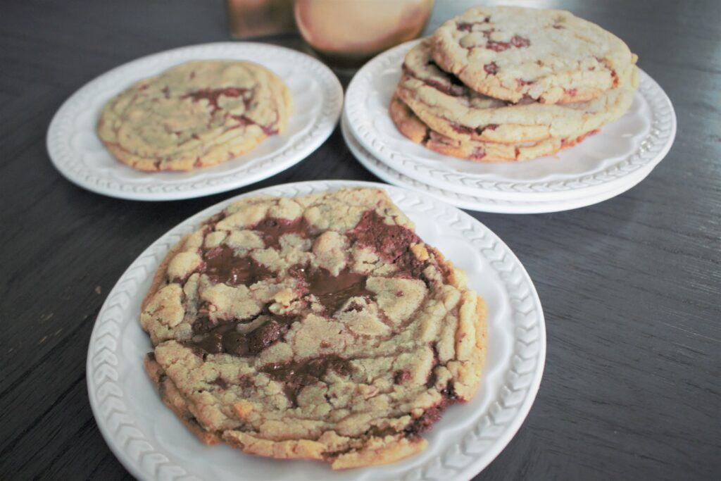 Crinkly Chocolate Chip Cookies